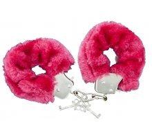 Меховые наручники с ключиками Furry Handcuffs