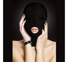 Закрытая маска на лицо с отверстием для рта Submission