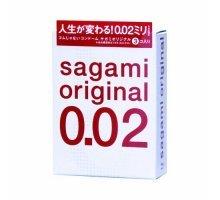 Ультратонкие презервативы Sagami Original - 3 шт