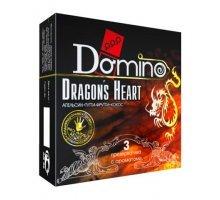 Ароматизированные презервативы Domino Dragon's Heart - 3 шт