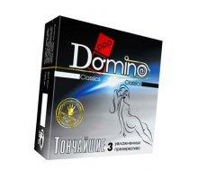 Супертонкие презервативы Domino Тончайшие - 3 шт