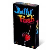 Розовые презервативы Sagami Jelly Push - 5 шт