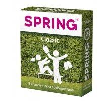 Классические презервативы SPRING CLASSIC - 3 шт