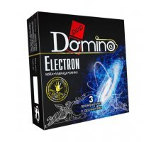 Ароматизированные презервативы Domino Electron - 3 шт