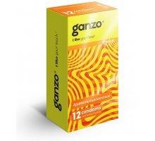 Ароматизированные презервативы Ganzo Juice - 12 шт
