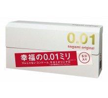 Супер тонкие презервативы Sagami Original 0.01 - 5 шт
