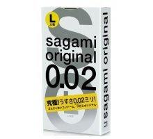 Презервативы Sagami Original L-size увеличенного размера - 3 шт