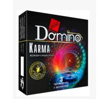 Ароматизированные презервативы Domino Karma - 3 шт