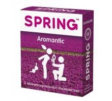 Ароматизированные презервативы SPRING AROMANTIC - 3 шт