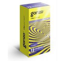 Тонкие презервативы для большей чувствительности Ganzo Sence - 12 шт