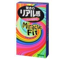 Презервативы Sagami Xtreme Miracle Fit - 10 шт