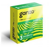 Ультратонкие презервативы Ganzo Ultra thin - 3 шт