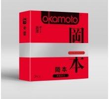 Ультратонкие презервативы OKAMOTO Skinless Skin Super thin - 3 шт
