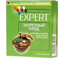 Презервативы Expert Запретный плод - 3 шт
