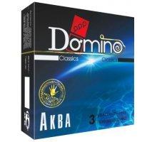 Презервативы Domino Аква - 3 шт