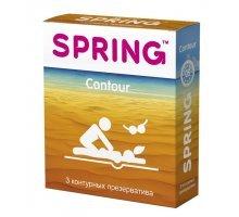 Контурные презервативы SPRING CONTOUR - 3 шт