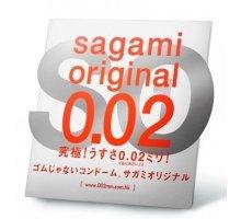Ультратонкий презерватив Sagami Original - 1 шт