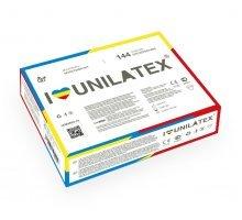Разноцветные ароматизированные презервативы Unilatex Multifruits - 144 шт