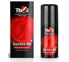 Крем Sextaz-m с возбуждающим эффектом для мужчин - 20 гр