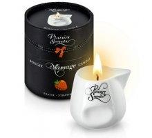 Массажная свеча с ароматом клубники Bougie de Massage Gourmande Fraise - 80 мл