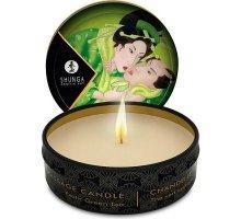 Массажная свеча Exotic Green Tea с ароматом зелёного чая - 30 мл