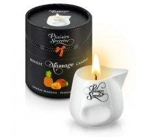Массажная свеча с ароматом манго и ананаса Bougie de Massage Ananas Mangue - 80 мл