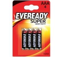 Батарейки EVEREADY SUPER R03 типа AAA - 4 шт