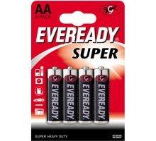 Батарейки EVEREADY SUPER R6 типа AA - 4 шт