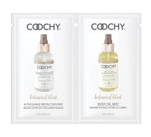 Набор - масло с феромонами и лосьон после бритья COOCHY BOTANTICAL BLAST - 6 мл. и 2,7 гр