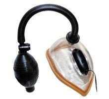 Женская вакуумная помпа с вибрацией и грушей
